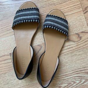 JCrew Sandals, 10